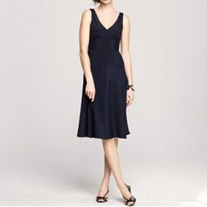 J Crew Sophia Silk Tricotine Dress
